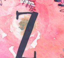 Pretty in Pink - Z Sticker