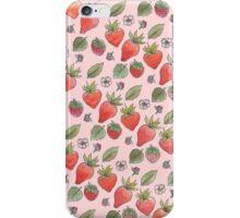 Strawberry Print iPhone Case/Skin