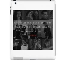 Shadowhunters - Side by side  iPad Case/Skin