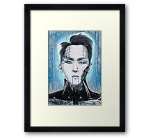 Cyborg Ravi Framed Print