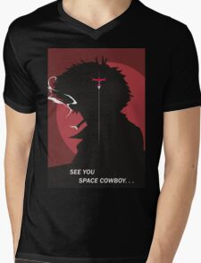 See You Space Cowboy - Spike Mens V-Neck T-Shirt