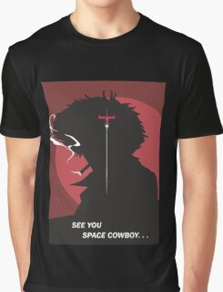 See You Space Cowboy - Spike Graphic T-Shirt