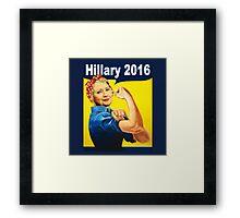 hillary clinton 2016 Framed Print