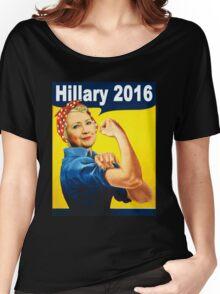 hillary clinton 2016 Women's Relaxed Fit T-Shirt