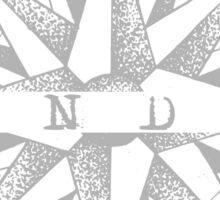Wander - II - Light grey  Sticker