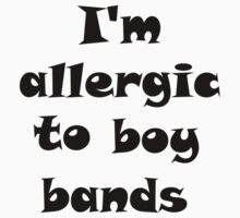 I'm allergic to boy bands Baby Tee