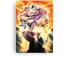 Rainbow Power Canvas Print