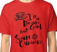 Dean Girl but Sam Curious Classic T-Shirt