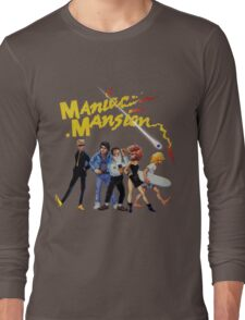 Maniac Mansion Long Sleeve T-Shirt