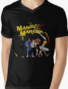 Maniac Mansion Mens V-Neck T-Shirt