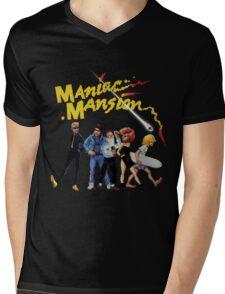 Maniac Mansion Mens V-Neck T-Shirt