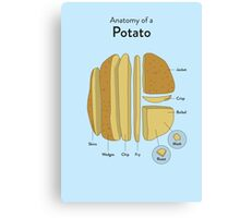Potato Canvas Print