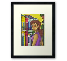 Sunny Day in New Orleans Framed Print