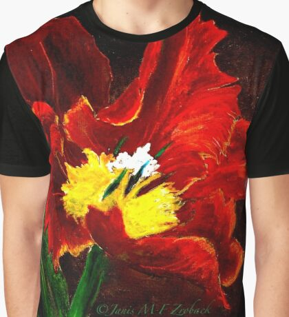 The Red Tulip Graphic T-Shirt