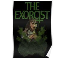 the exorcist split pea Poster
