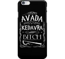 Avada Kedavra Harry Potter iPhone Case/Skin