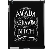 Avada Kedavra Harry Potter iPad Case/Skin