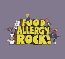 Food Allergy Rock ! Kids Tee
