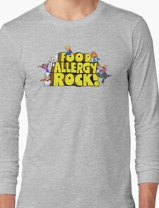 Food Allergy Rock ! Long Sleeve T-Shirt