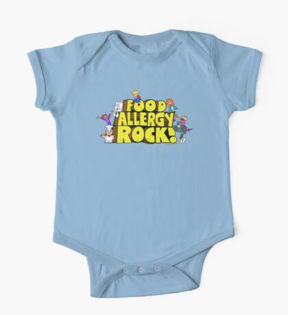 Food Allergy Rock ! One Piece - Short Sleeve