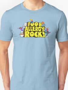 Food Allergy Rock ! Unisex T-Shirt