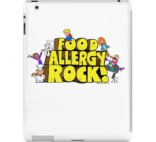 Food Allergy Rock ! iPad Case/Skin