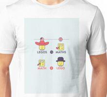 Lego and Maths Unisex T-Shirt