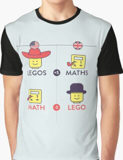 Lego and Maths Graphic T-Shirt