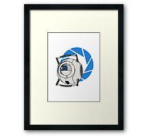 Wheatley! - Portal 2 Framed Print