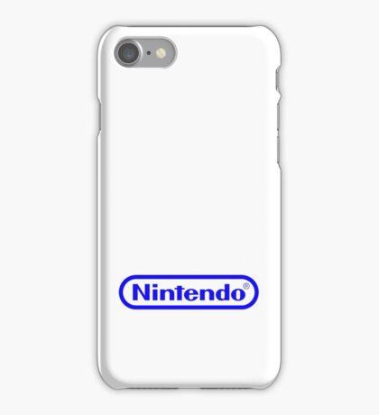 Blue Nintendo Logo iPhone Case/Skin
