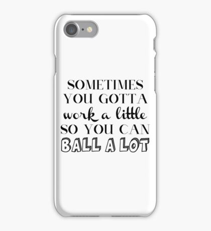 Parks and Rec Tom Haverford Quote iPhone Case/Skin