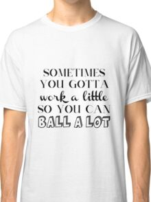 Parks and Rec Tom Haverford Quote Classic T-Shirt