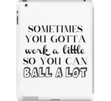 Parks and Rec Tom Haverford Quote iPad Case/Skin