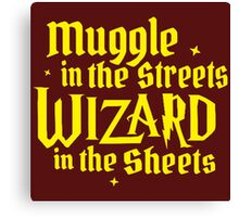 Muggle In The Street Quotes Canvas Print