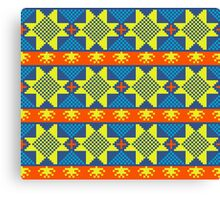 Ethnic design pattern. Russian traditional motive.  Canvas Print