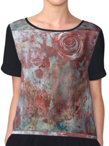 When Roses Bleed Chiffon Top