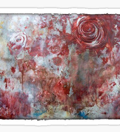 When Roses Bleed Sticker