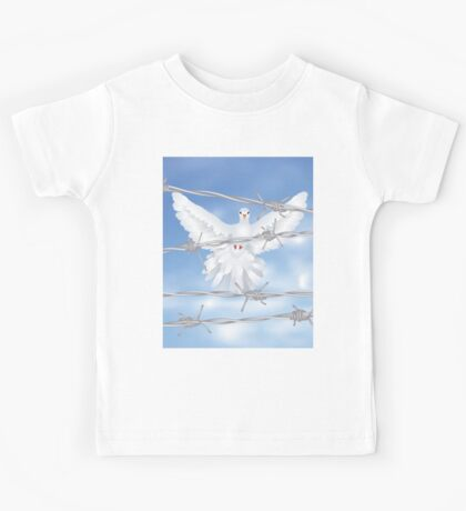 Dove and Barbed Wire Kids Tee