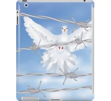Dove and Barbed Wire iPad Case/Skin