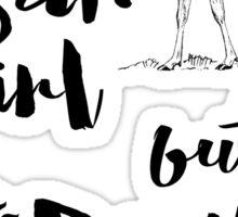 Sam Girl but Dean Curious Sticker