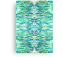 Water and Light Reflections Canvas Print