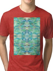 Water and Light Reflections Tri-blend T-Shirt