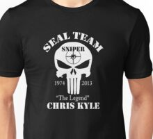 The legend chris kyle,seal team sniper Unisex T-Shirt
