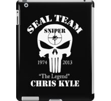 The legend chris kyle,seal team sniper iPad Case/Skin