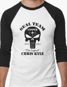 seal team sniper chris kyle Men's Baseball ¾ T-Shirt