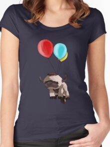 Balloon Appa Women's Fitted Scoop T-Shirt