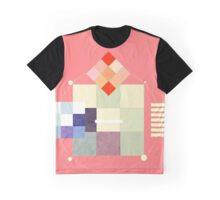 Watercolor Geometry  Graphic T-Shirt