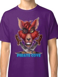 Foxy the pirate fox Classic T-Shirt