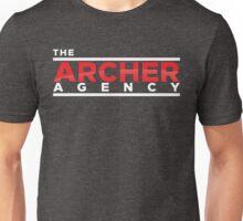 The Archer Agency Red/White Logo Unisex T-Shirt