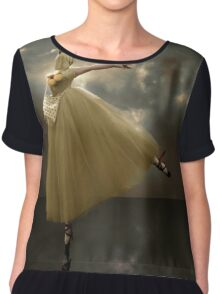 Golden birdies Chiffon Top